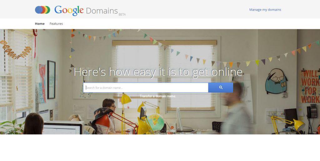 strona główna google domains