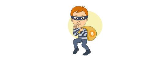 kradzież 100 bitcoinów