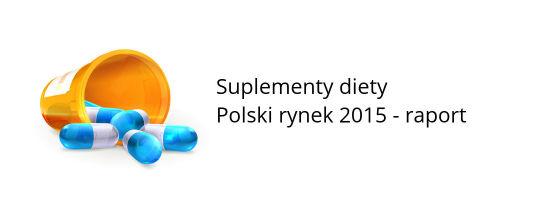 rynek suplementów diety badania