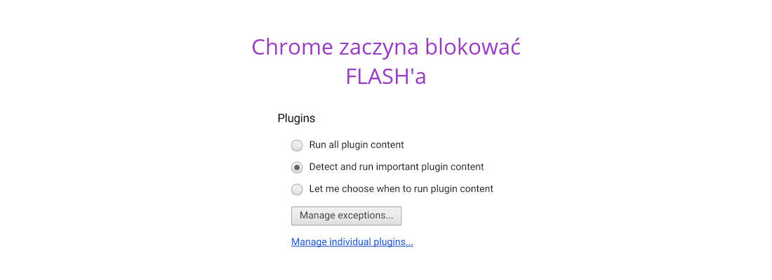 Chrome przestaje wyświetlać reklamy Flash