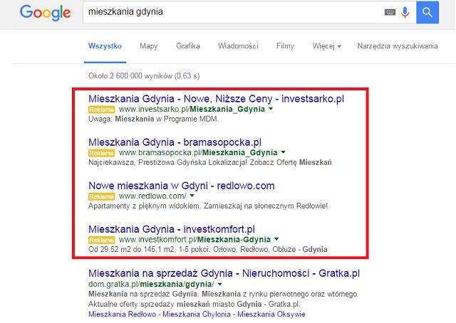 zmiany w pozycjonowaniu google