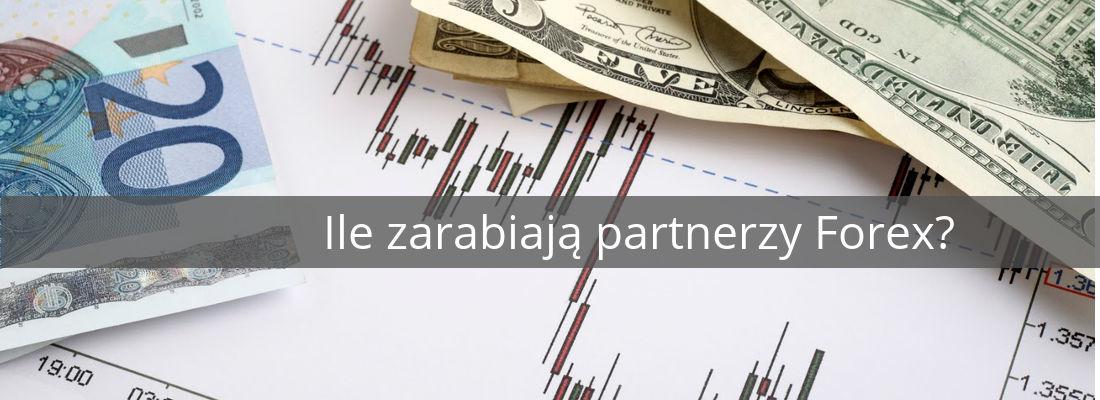 ile zarabiają partnerzy forex