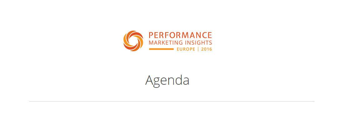 agenda pmi europe 2016