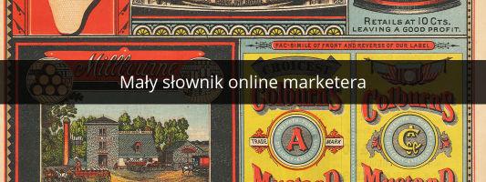 słownik online marketing