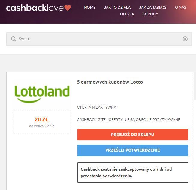 cashbacklove lottoland