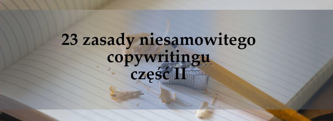 niesamowity copywriting