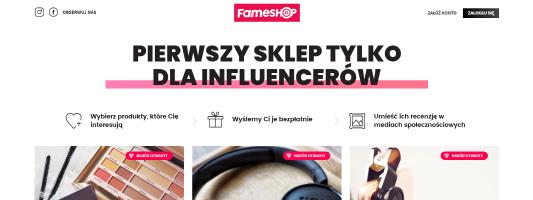 Fameshop - strona główna